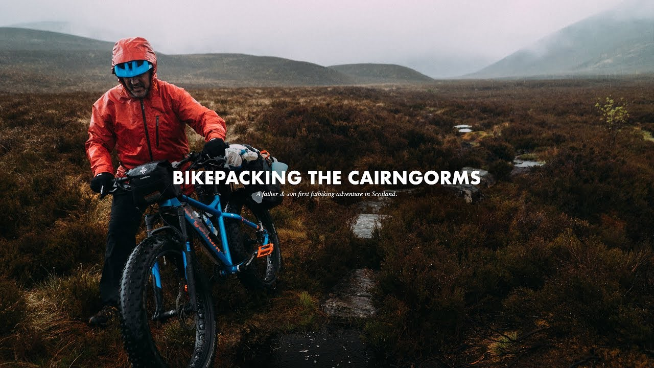 Bikepacking the Cairngorms de Djisupertramp