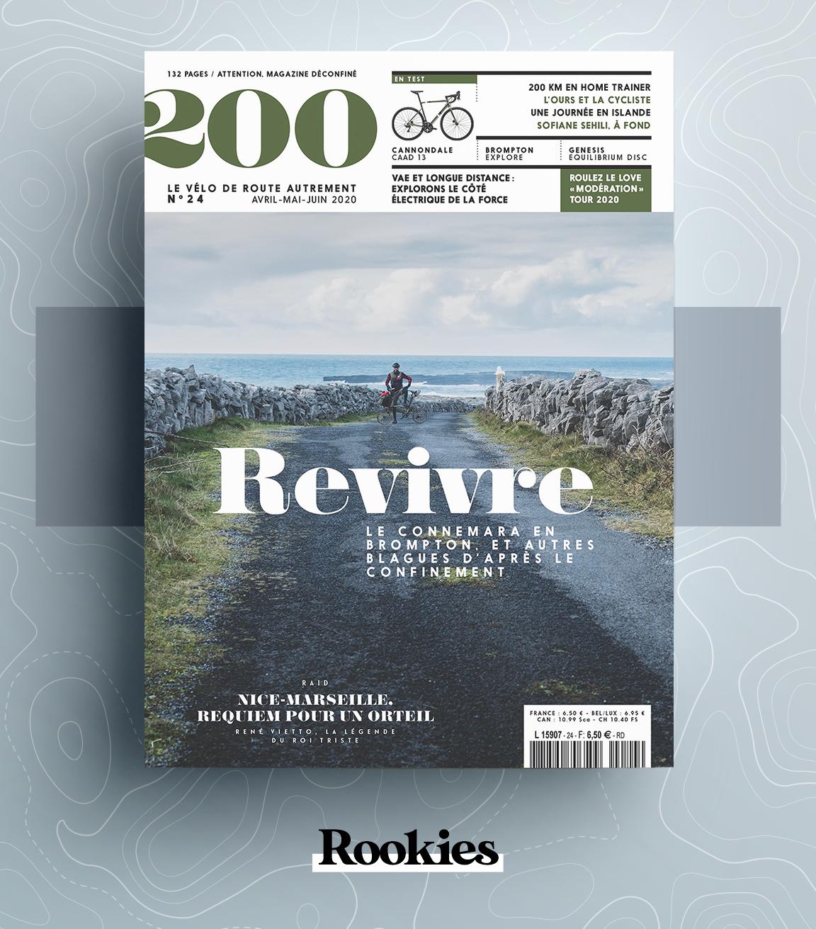 200, le magazine français des amoureux d'aventures à vélo.