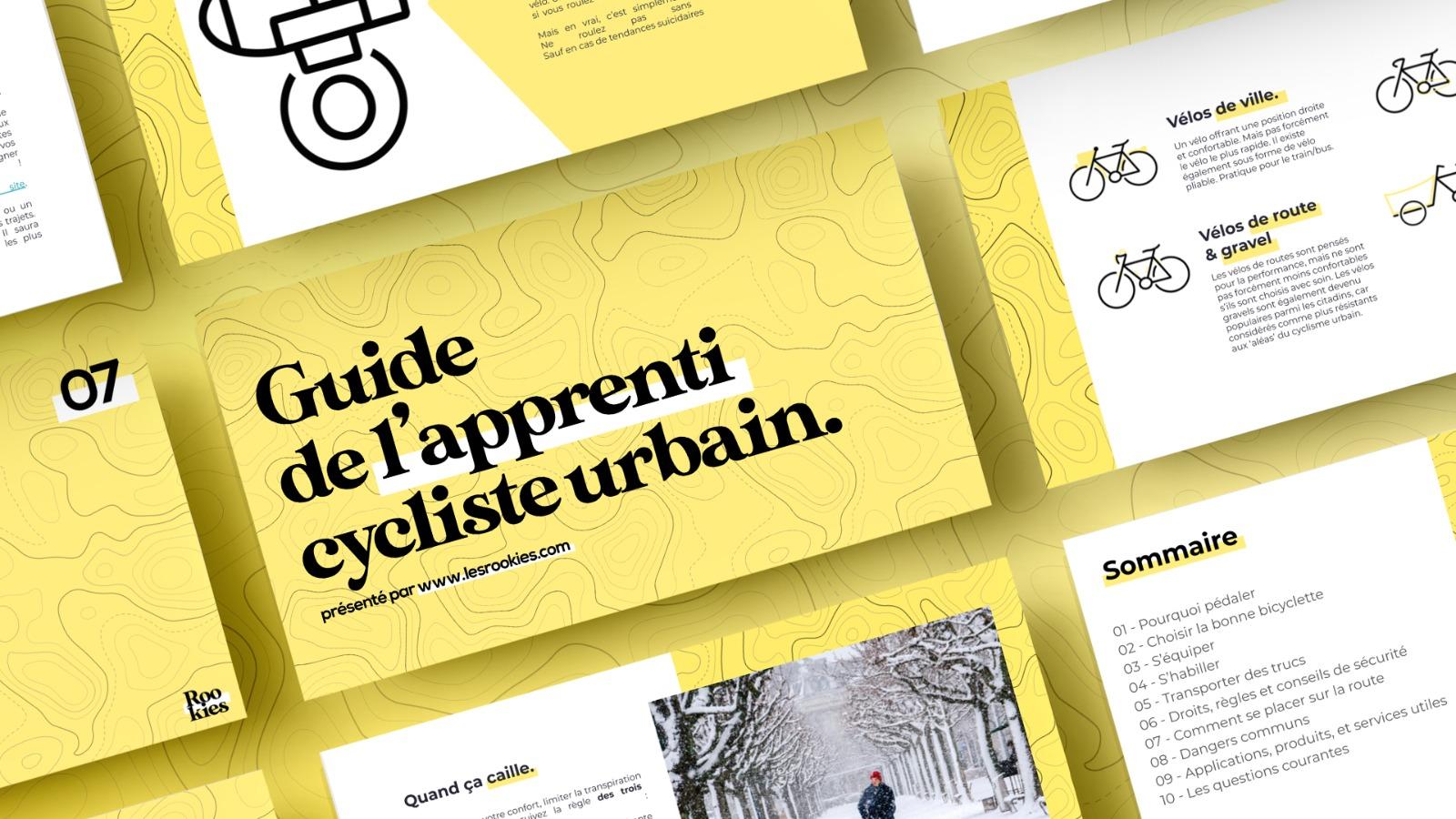 Guide de l'apprenti cycliste urbain