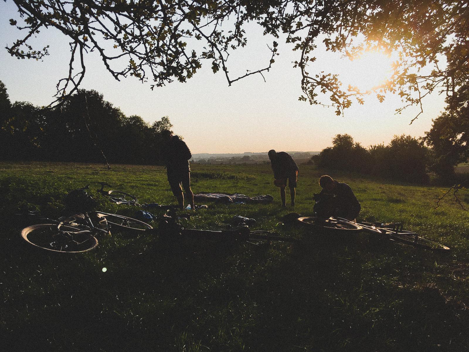 Les Rookies - Gravel Bikepacking