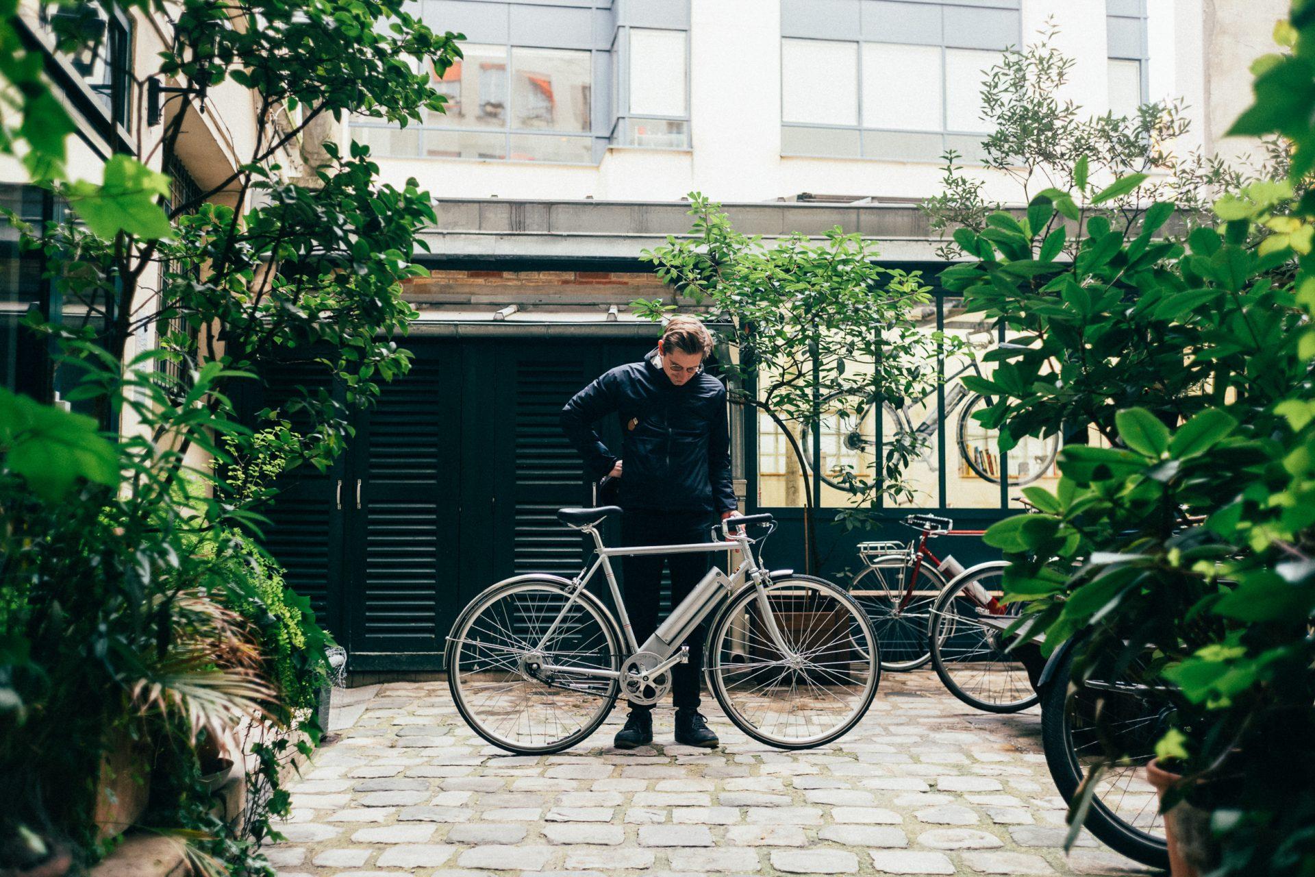 Visite chez les Cycles Cavale.