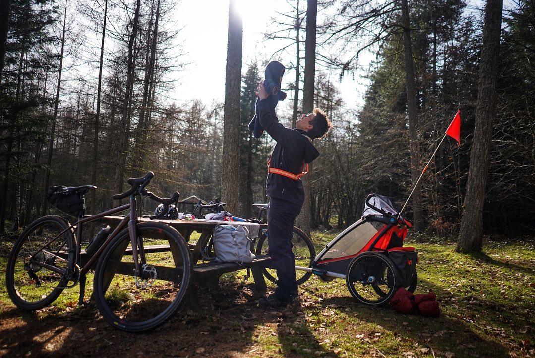 Bikepakids –  Jeanne Lepoix et sa Mini Passagère