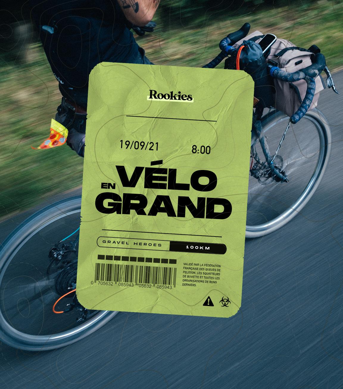 Les Rookies à Vélo en Grand  2021